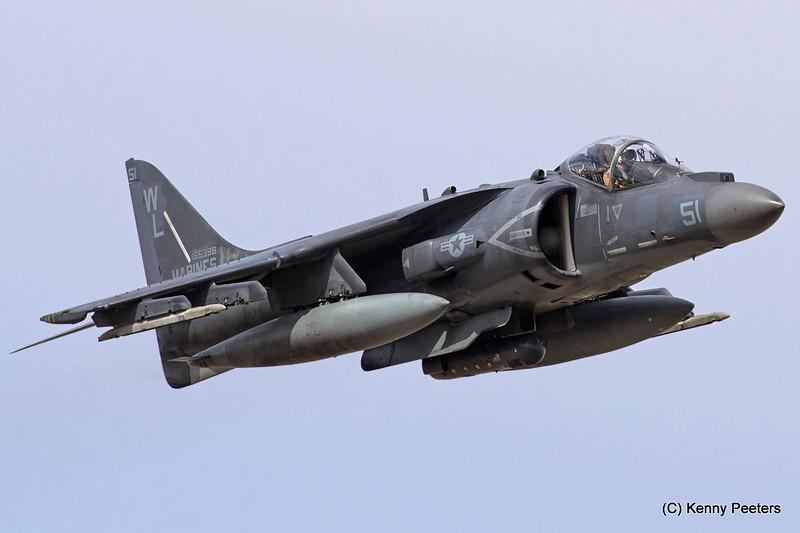"""165398 AV-8B   Marines  """" VMA-311  Tomcats """""""