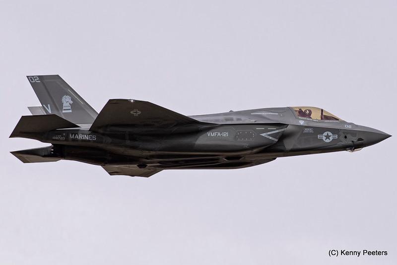 """168720 F-35B  Marines  """"VMFA-121 Green Knights"""""""