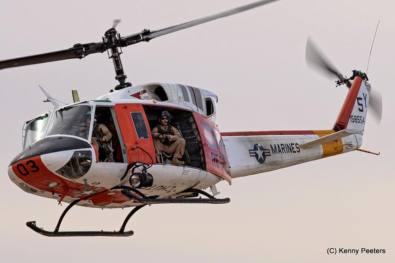 """158554  Bell HH-1N  marines  """" Yuma SAR """""""