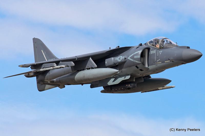 """165567  AV-8B  Marines  """" VMA-311  Tomcats """""""