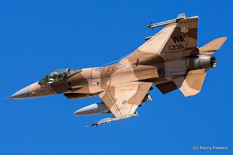 84-1236  F-16C USAF 64th AGRS