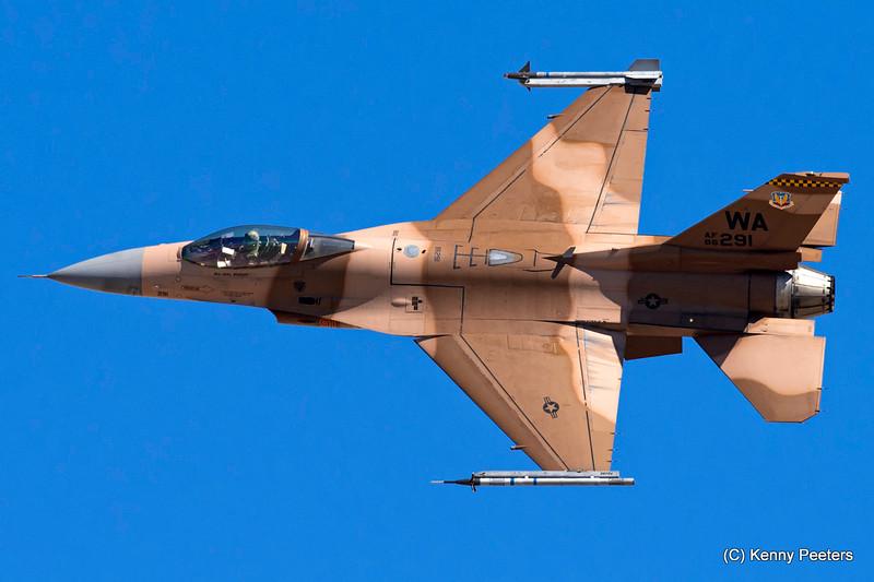 86-0291 F-16C USAF 64th AGRS