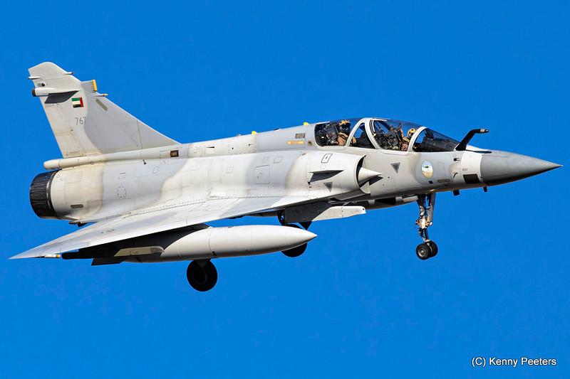 767   Mirage 2000-9EAD United Arab Emirates Air Force   71/76/86sq