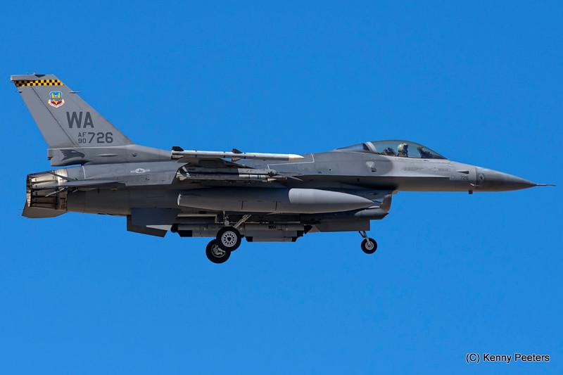 90-0726  F-16C  USAF 16th WPS