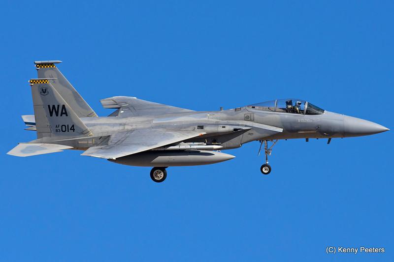 83-0014 F-15C  USAF 433rd WPS