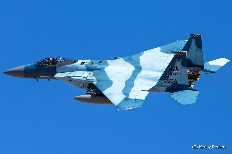 78-0504  F-15C USAF  64th AGRS