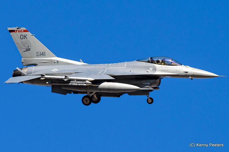 89-2141  F-16C USAF 125th FS