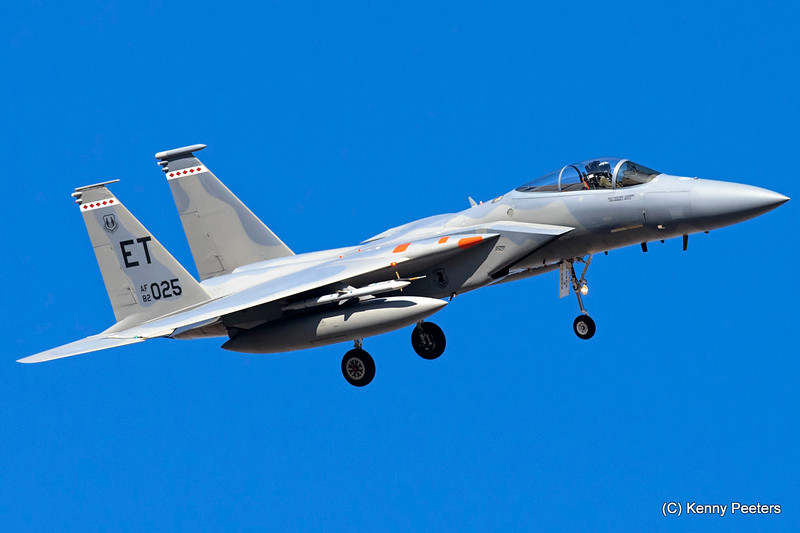 82-0025 F-15C USAF 40th FLTS