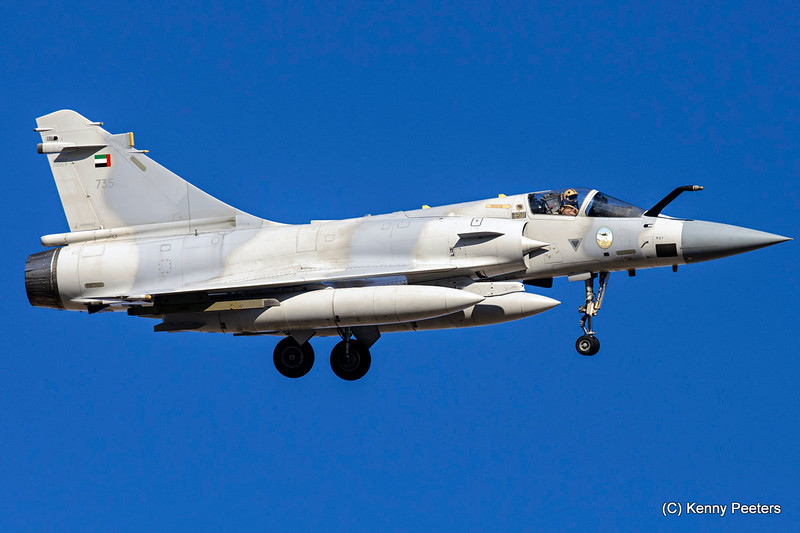 735  Mirage 2000-9EAD United Arab Emirates Air Force   71/76/86sq