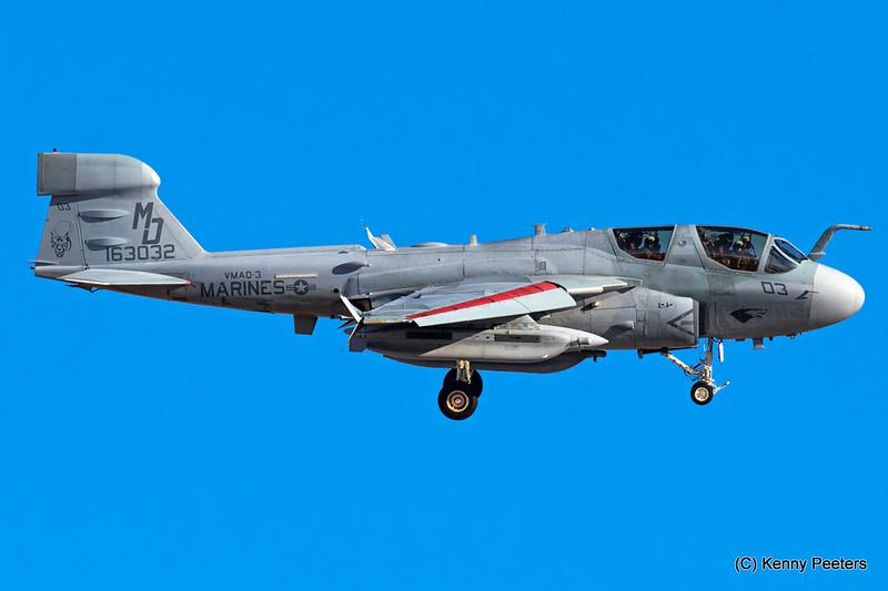 163032 EA-6B Prowler  Marines VMAQ-3