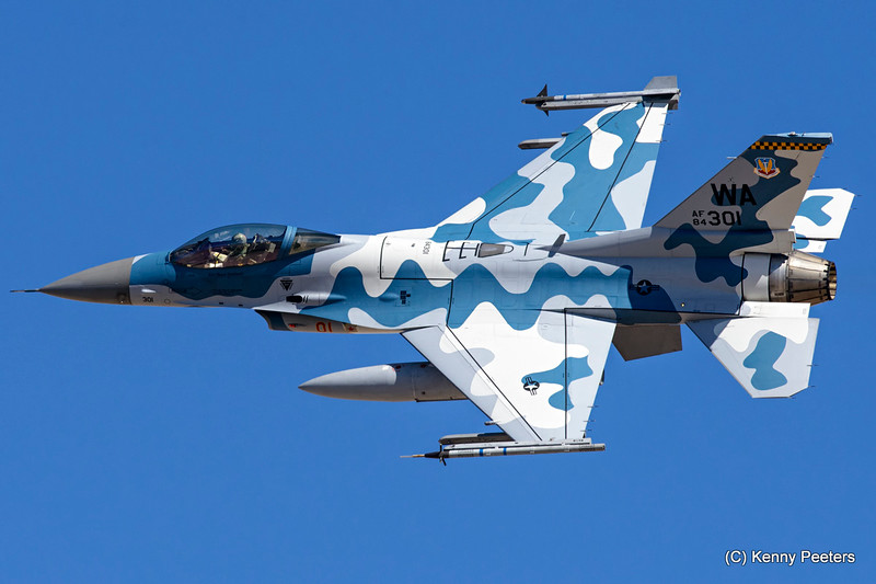 84-1301 F-16C USAF 64th AGRS