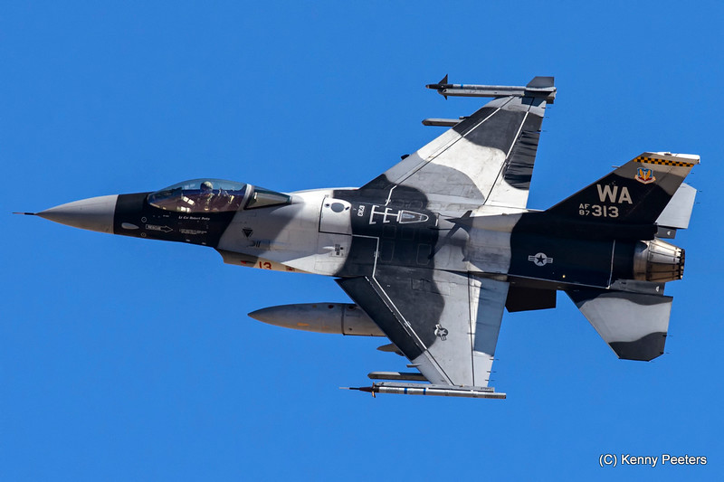 87-0313  F-16C USAF 64th AGRS