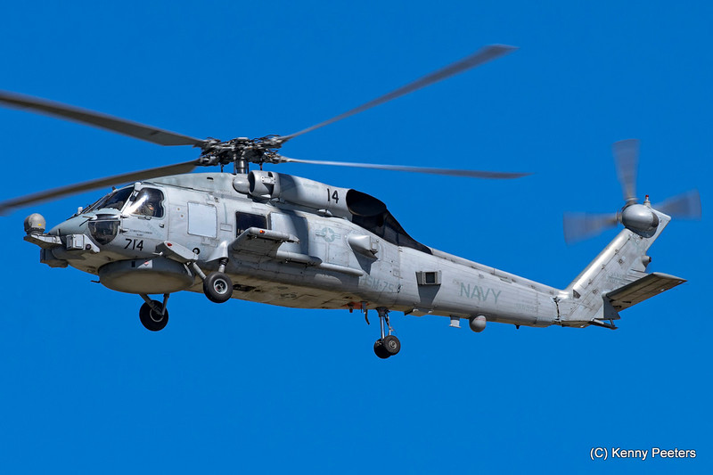"""166993  MH-60R Seahawk  NAVY  """" HSM-75 Wolfpack"""""""