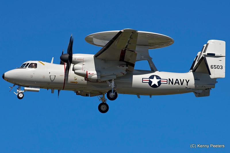 "166503  E-2C  Hawkeye NAVY  "" VAW-120   Greyhawks"""