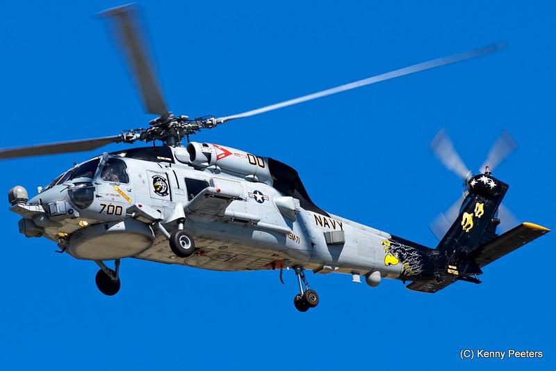 "167010 MH-60R Seahawk NAVY  ""HSM-71 Raptors"""