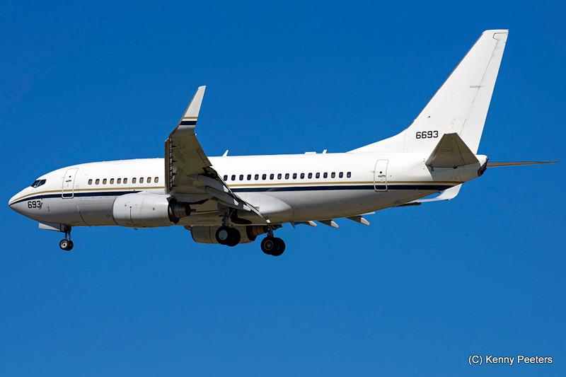 """166693  C-40A  NAVY  """"VR-57 """""""