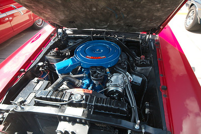 1969 Mustang 390 engine