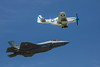 Heritage Flight--P-51 & F-35