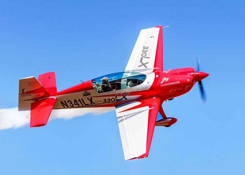 Patty Wagstaff in her New EXTRA 330LX