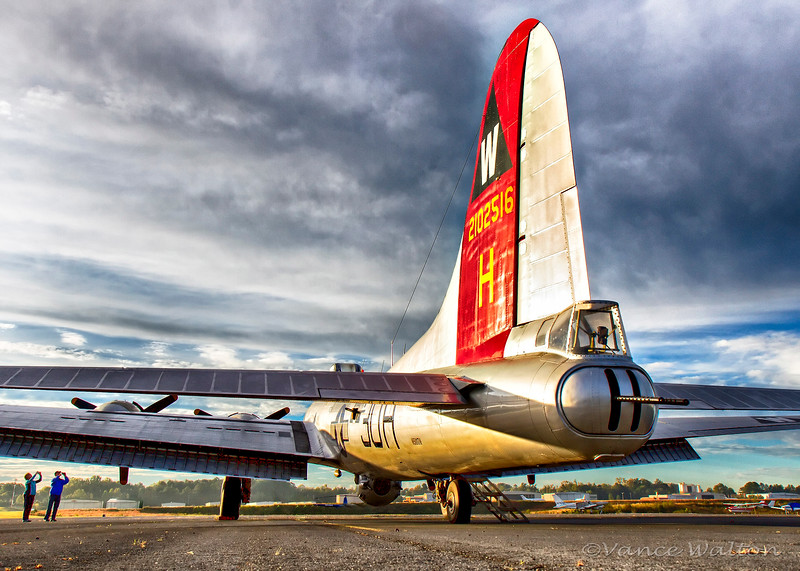 """Morning Sunlight Warms """"Aluminum Overcast"""" At The Start Of A New Day"""