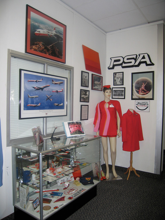 """<font color=""""ffffff"""">AS DISPLAYED IN THE PSA EXHIBIT AT THE SAN DIEGO AIR AND SPACE MUSEUM."""
