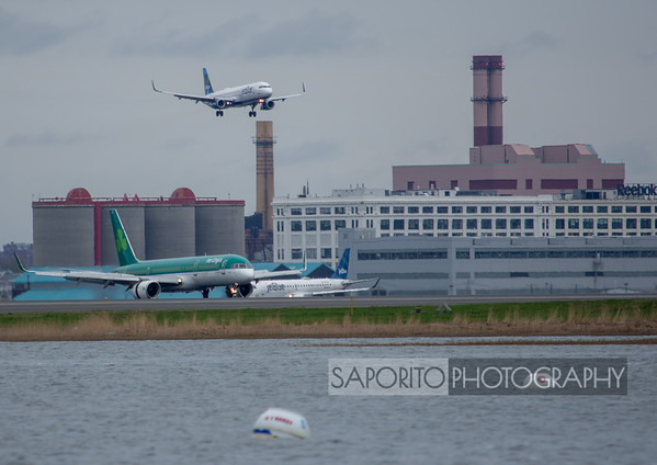 JetBlue A321 and Aer Lingus 757