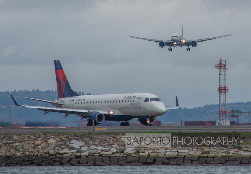 Qatar 777 and Delta E170
