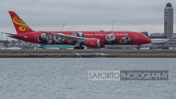 """Hainan 787-9 """"Kung Fu Panda"""""""