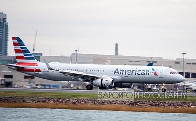 American A321