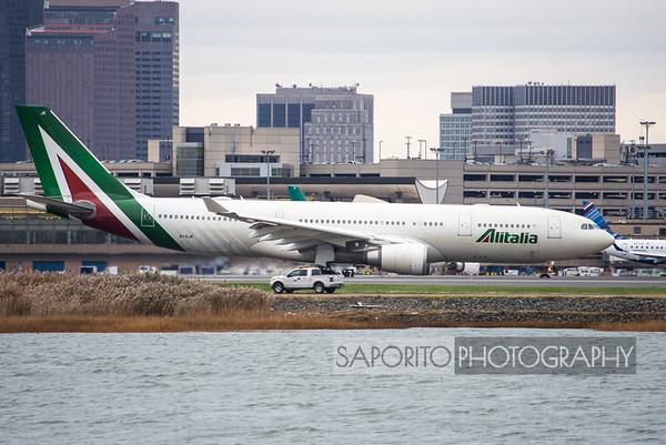 Alitalia A-330 BOS