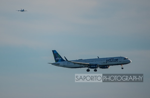 JetBlue A321 with company