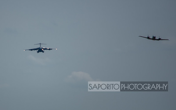 C-17 and Cessna 402