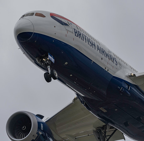 British Airways 787-8 G-ZBJK