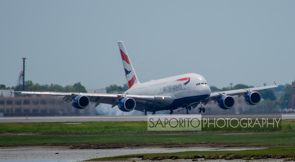 British Airways A-380