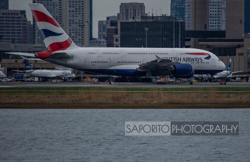 British Airways A-380