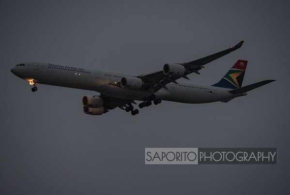 South African A340-600