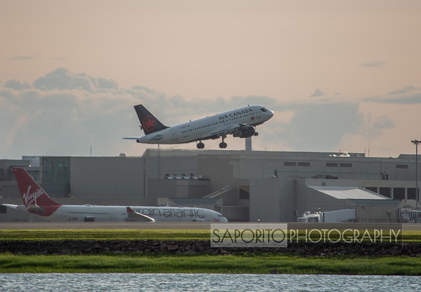 Air Canada Departing BOS