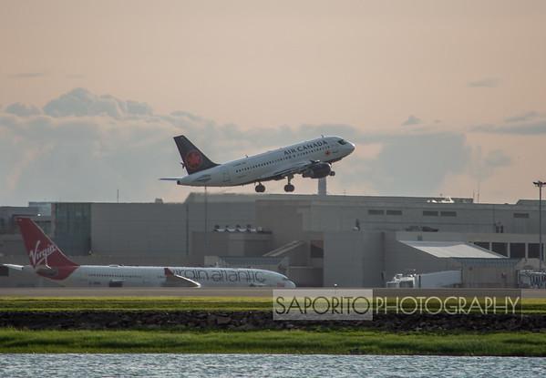 Air Canada Departing BOS