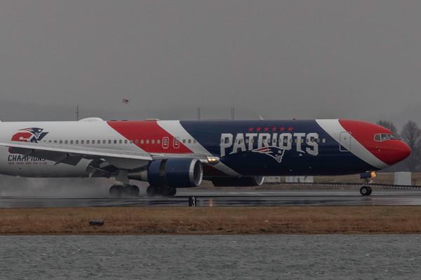 New England Patriots Boeing 767-300