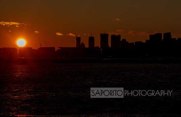 Boston Sunset