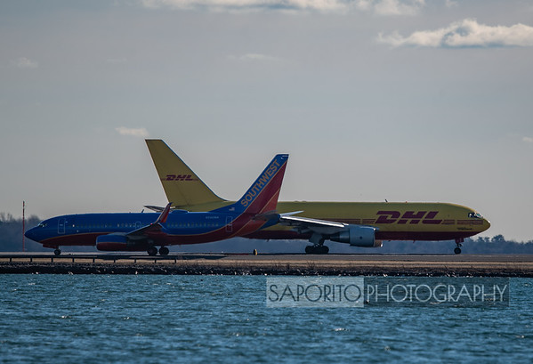Southwest 737-700 and DHL 767-200