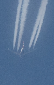British Airways a 40,000' over BOS
