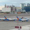 Las Vegas Strip and Skyline from Staff Car Park (Level 6 - above Terminal 1)