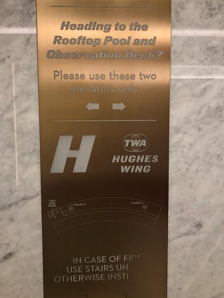 TWA Hotel Elevator - New York JFK Airport
