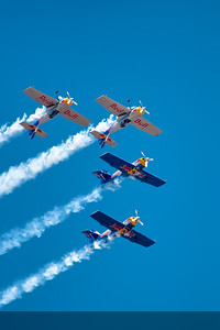 Signature formation of the Flying Bulls - they call it Mirror flying