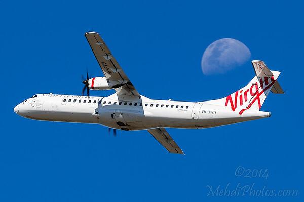 VA ATR72-500 VH-FVU
