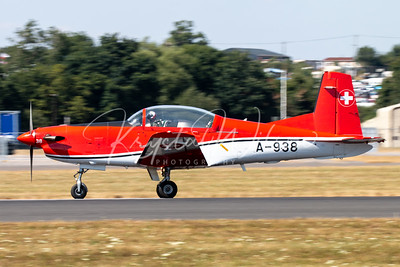 SAF PC-7 Team At RIAT 2018