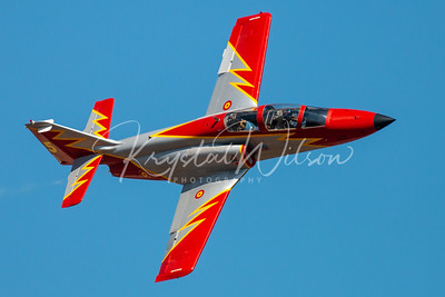 SPAF Patrulla Aguila Solo Pass At RIAT 2018
