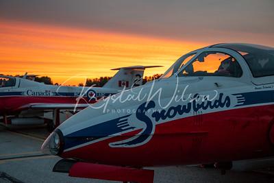 RCAF Snowbirds At Airshow London 2018