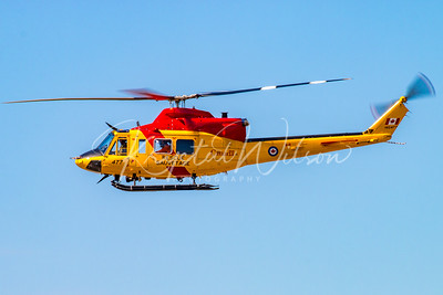 RCAF CH-146 Griffon Assigned To 417 Sqn At CFB Cold Lake 2016